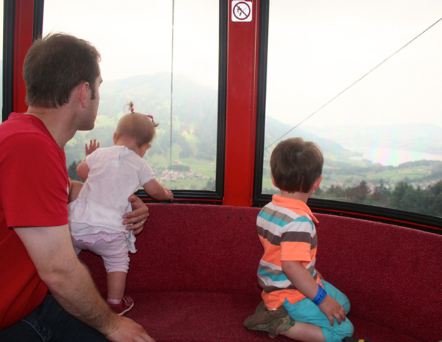 A fun day for the kids in the Alps. Settel, Switzerland - via Travel Turtle