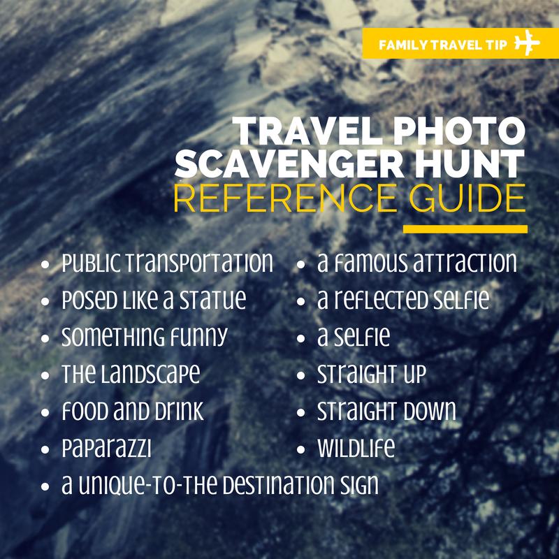 Photo Scavenger Hunt Guide