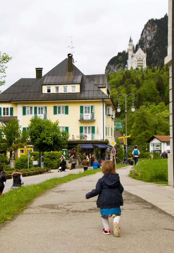 So many touristy activities in the town of Schwangau.