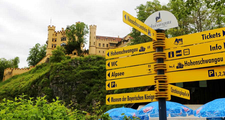 So much fun stuff to do around Neuschwanstein and Hohenschwangau.