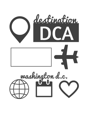 Washington DC Journaling cards - 1 of 29 available for free download.
